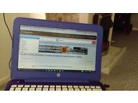 hp purple laptop