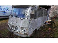 Classic French Peugeot J7 Van 1977 Barn Find Project - Like Citroen Hy LHD