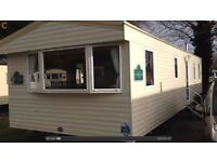Haggerston Castle Caravan Rental on Tower Lawn Area