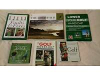 A Selection of Golf Books. (6)