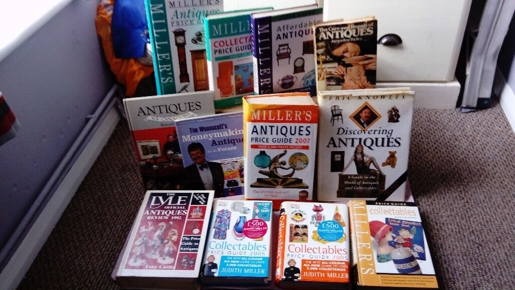 Collection of Antique Collectors booksin Canterbury, KentGumtree - A collection of Antique and collectors guide books. All in good or excellent condition. Books include The Lyle Official Antiques Review 1992 Tony Curtis Collectables Price Guide 2005 Judith Miller Collectables Price Guide 2006 Judith Miller Millers...