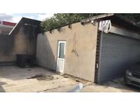 Lock up garage for rent 4 parking spaces available big space