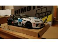 Himoto Racing LFA brushless race car