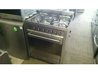 70cm freestanding smeg dual fuel cooker. Hardly used