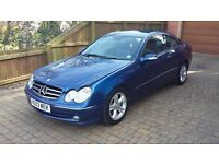 Mercedes Benz CLK270 CDi Avantgarde 2 door Automatic