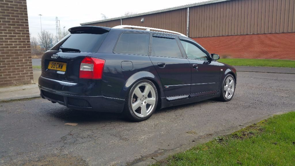 audi a4 b6 avant sport 1 9 tdi rare votex bodykit. Black Bedroom Furniture Sets. Home Design Ideas