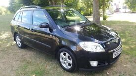 SKODA FABIA GREENLINE 1.4 TDI PD DPF ESTATE DIESEL MOT JUNE 2019 SERVICE HISTORY £20 TAX PX WELCOME