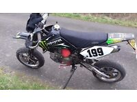 £1000 or swap road legal pit bike 2011 stomp z with race engine look!!!
