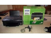 Epson Stylus SX115 Comes with box, has been well looked after