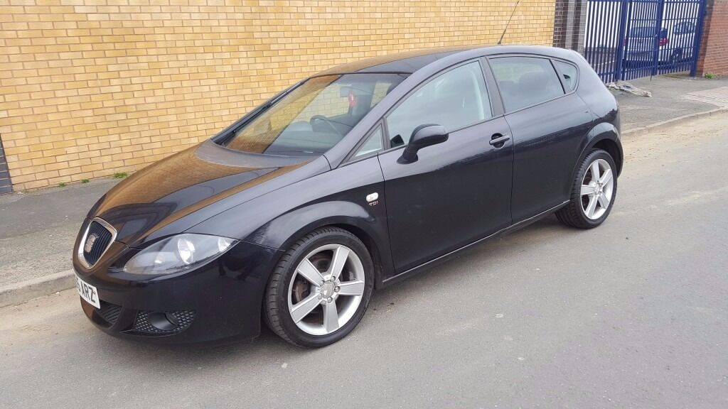 2005 seat leon tdi diesel black extensive service history in west midlands gumtree. Black Bedroom Furniture Sets. Home Design Ideas