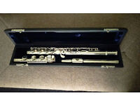 Trevor James Virtuoso Flute, open-holed, B foot, excellent condition
