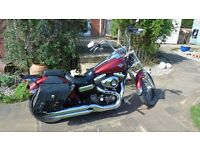 Harley Davidson 1550cc Wide Glide new Generation Model