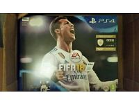 Brand New PS4 Slim Console with FIFA 18 (Black)