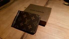 Louis Vuitton card holder + money clip