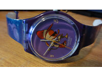 NEW SWATCH WATCH MONTREUX FESTIVAL SONG OF THE MERMAID JEPI GN222 RARE GENUINE