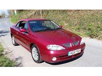 Renault Megane Convertible - exceptional. Just 47000 miles, 1.6 petrol, manual