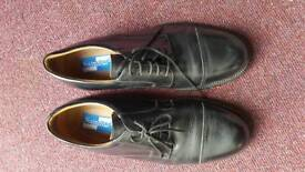 Men's black leather upper shoes. Size 9 REDUCED