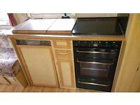 Caravan kitchen unit self build