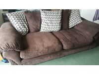 Sofas for sale. 1 x 3 seater plus 1 x 2 seater