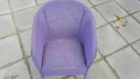 Purple Arm Chair