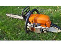 Stihl MS261C Petrol Chainsaw Professionals