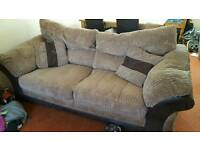 3seater and armchair