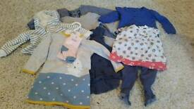 Baby girl clothes 9-12 m bundle