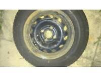 155/80/13 part worn tyre