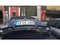 Bmw 2005 front bumper in good condition out and ready for collection breaking complete car