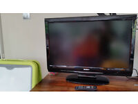 """32"""" Sharp LCD HD READY TV built in freeview (for parts & spare & repair use)"""