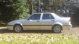 1997 Saab 9000 CSE Anniversary for sale. Silver, £550 MOT Sept 2017