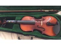 Violin 🎻 in a beautiful & elegant case