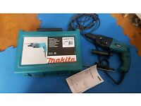 Makita HR2020 drill. Barely used but hammer action is underpowered.