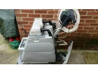 Numatic scrubber dryer floor cleaning machine buffer polisher