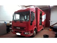 IVECO - 75E15 7.5t Motorsport Support Vehicle - Mobile Workshop - My P/x WHY