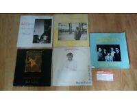 """11 x japan / david sylvian collection 12"""" / tour prog / ticket"""