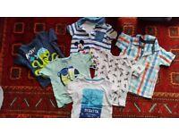 Bous spring summer clothes 12-18 months