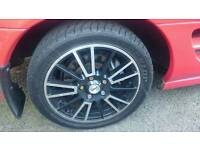"Fox 5x114.3 16"" alloy wheels + tyres"