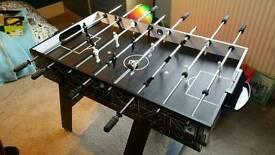 Foseball table football table