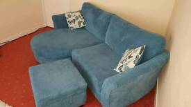 """""""Reduced """" Beautiful Teal """"Escape"""" DFS Lounger"""