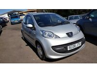 Peugeot 107 1.0 12v Urban ++MOT MAY 17++JUST SERVICED++IDEAL FIRST CAR++LOW TAX+6 MONTH WARRANTY INC