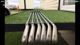 Excellent condition Ping G30 iron set
