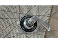 Road Bicycle wheel with dynamo