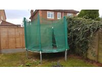 Trampoline, used but no damage