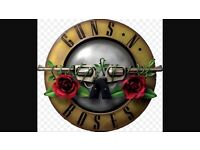 2 Guns in roses tickets Slane 27th may