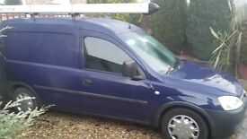 for sale vauxhall combo van 04