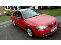 RED NISSAN ALMERA FOR SALE