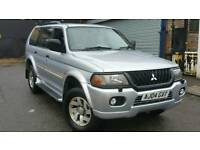 MITSUBISHI SHOGUN ELEGANCE V6 SPORTS 4X4 (SUV) LPG GAS, IMMACULATE CONDITION ALLOYS
