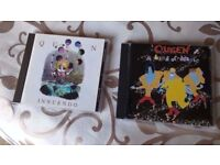 QUEEN: TWO CD ALBUMS : INNUNDO & A KIND OF MAGIC 2 CD ALBUMS EXCELLENT CONDITION