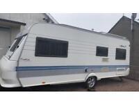 Hobby prestige 2004 6 berth caravan
